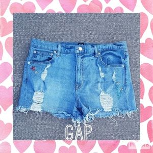 Gap embroidered shorts